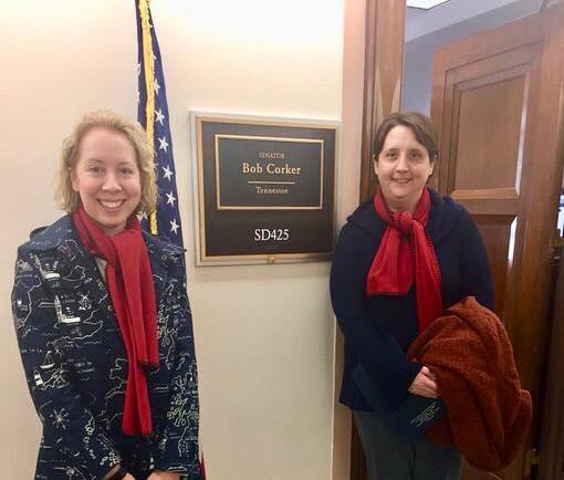 Visiting TN Legislators in Washington D.C.
