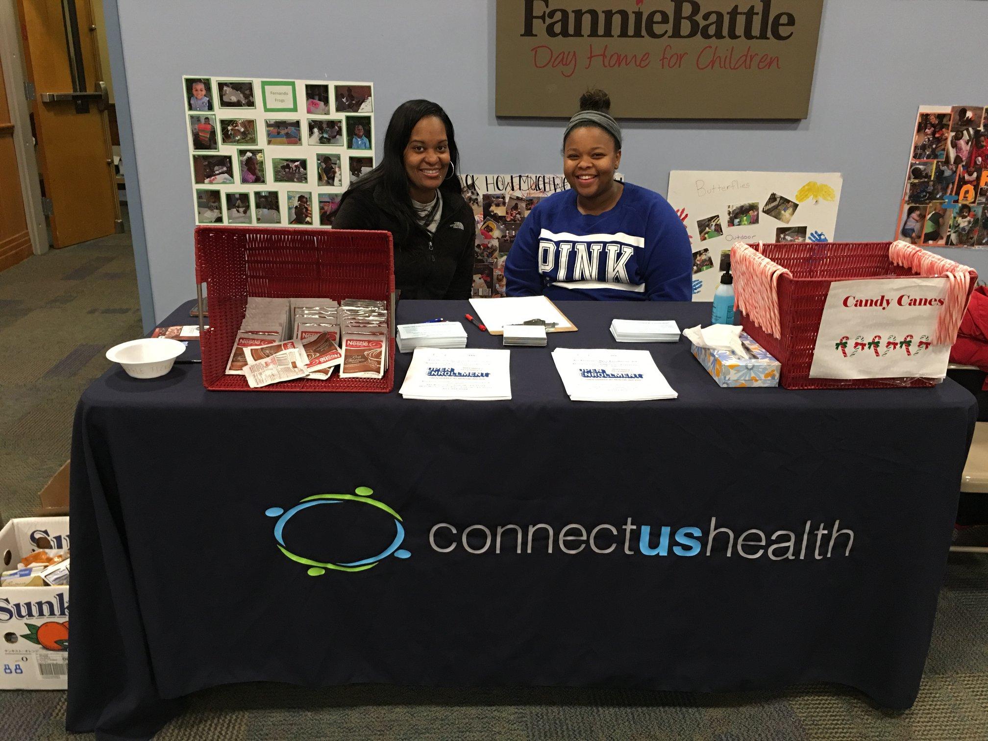 Offering Insurance Enrollment Assistance at Fannie Battle