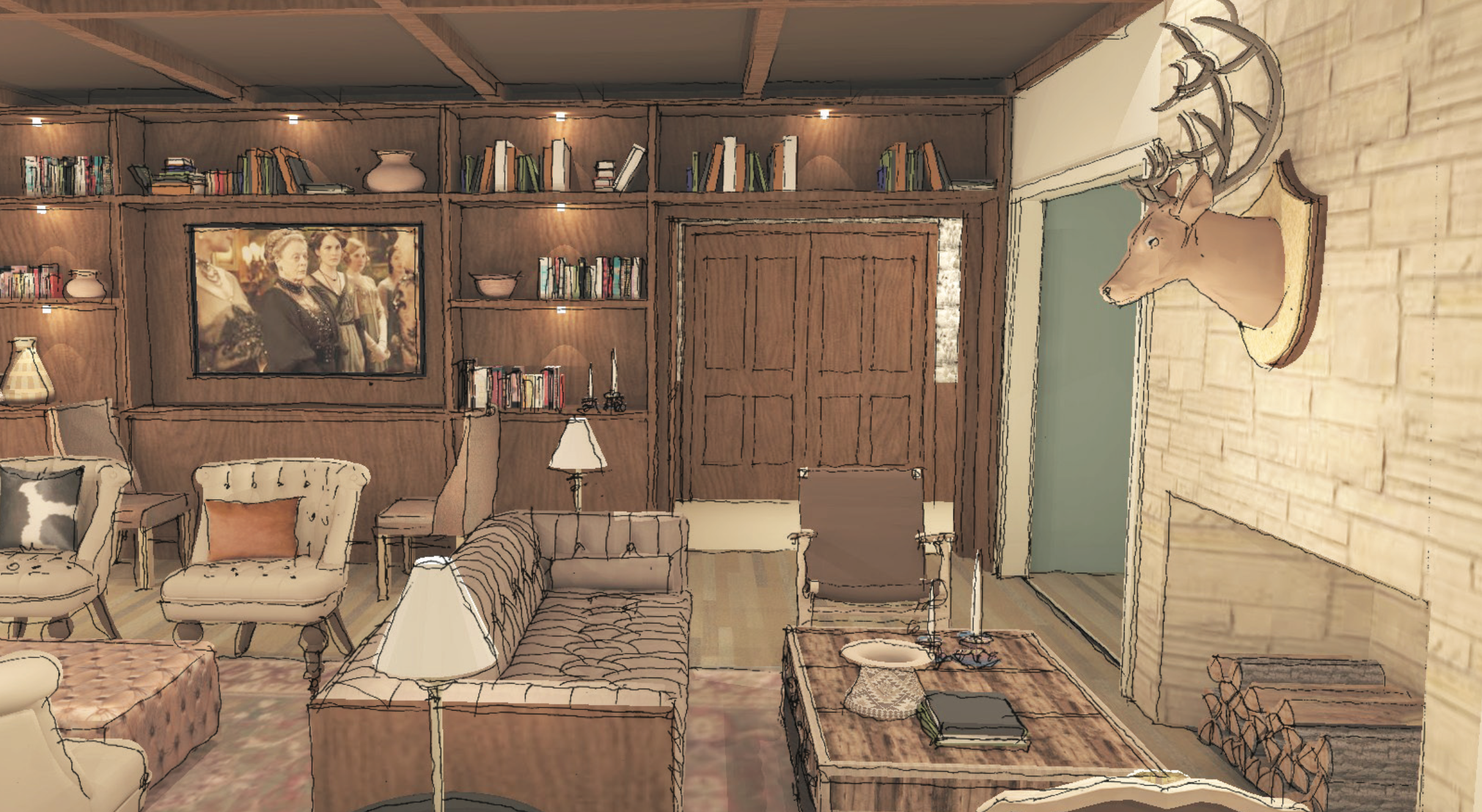 Shady Villa Bar Concept