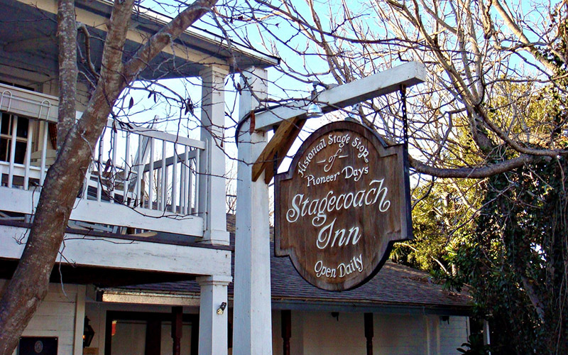 Texas Standard article — A Trip to Salado should start with a stay at its historic Stagecoach Inn