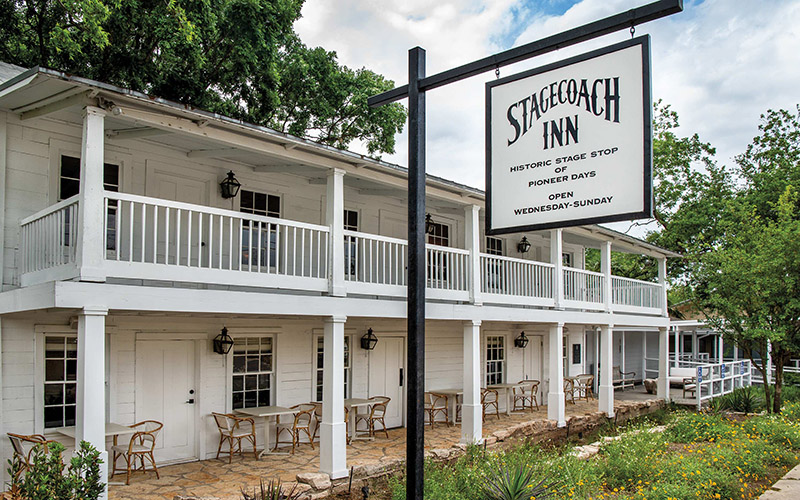 Texas Highways article — History, hushpuppies, and seared salmon at Salado's Stagecoach Inn