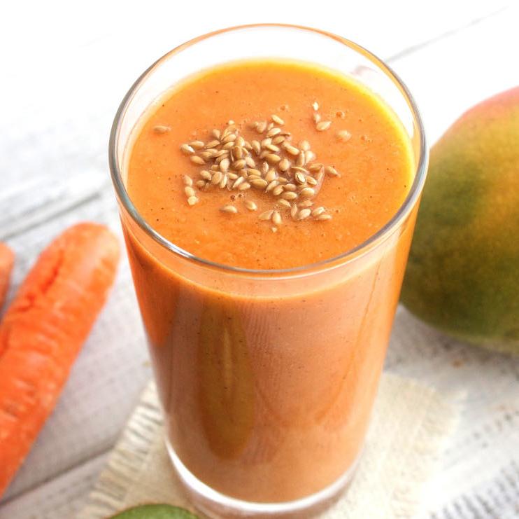 Creamy Carrot Mango