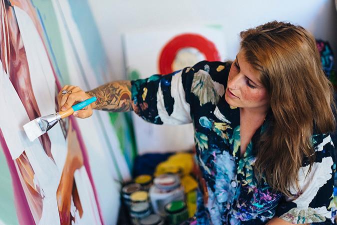 Nicole Holderbaum - Jax Kids Mural Project