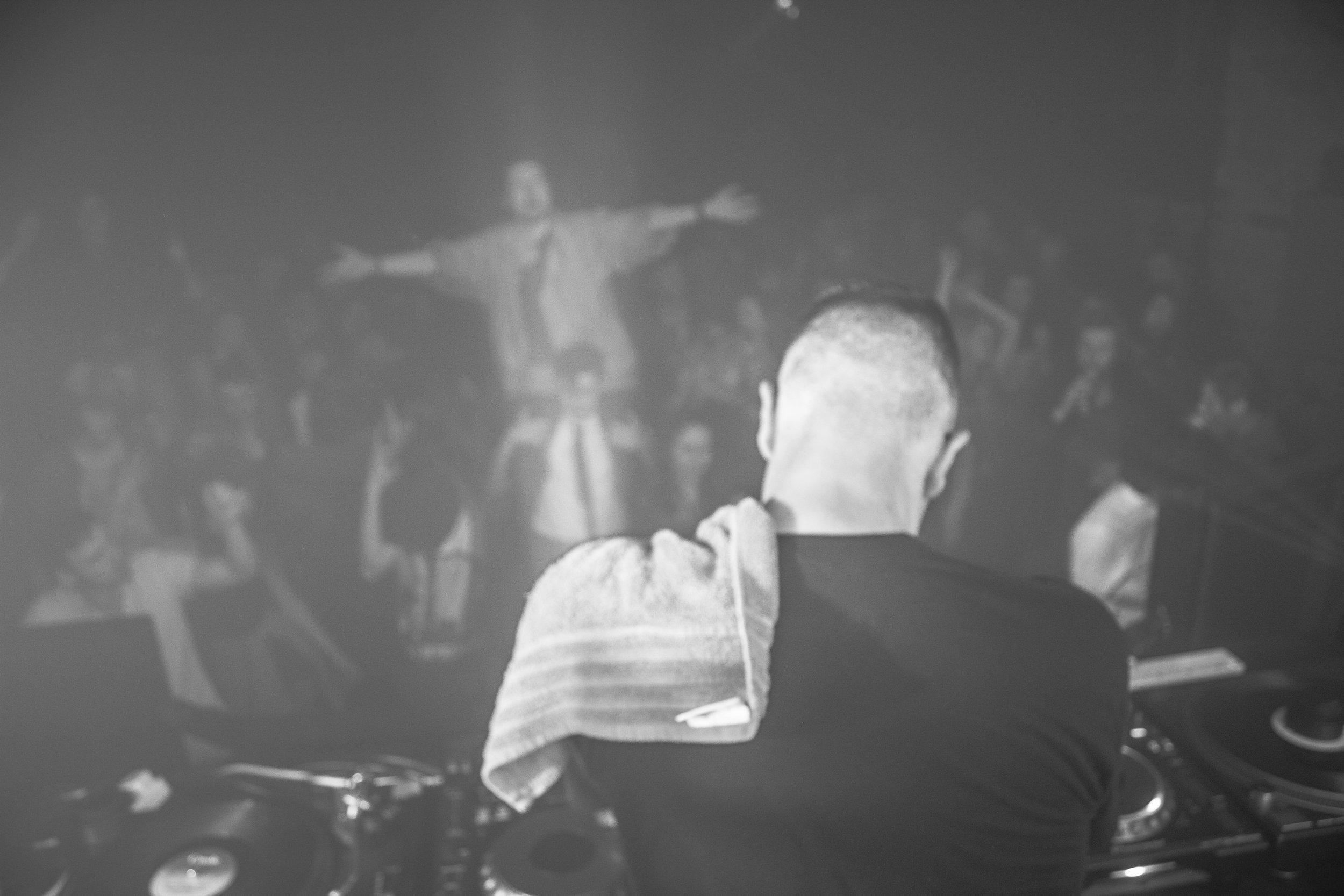"""Disco Towel"" Auto Disco by James O'Hara - Dundee, Scotland 2014"