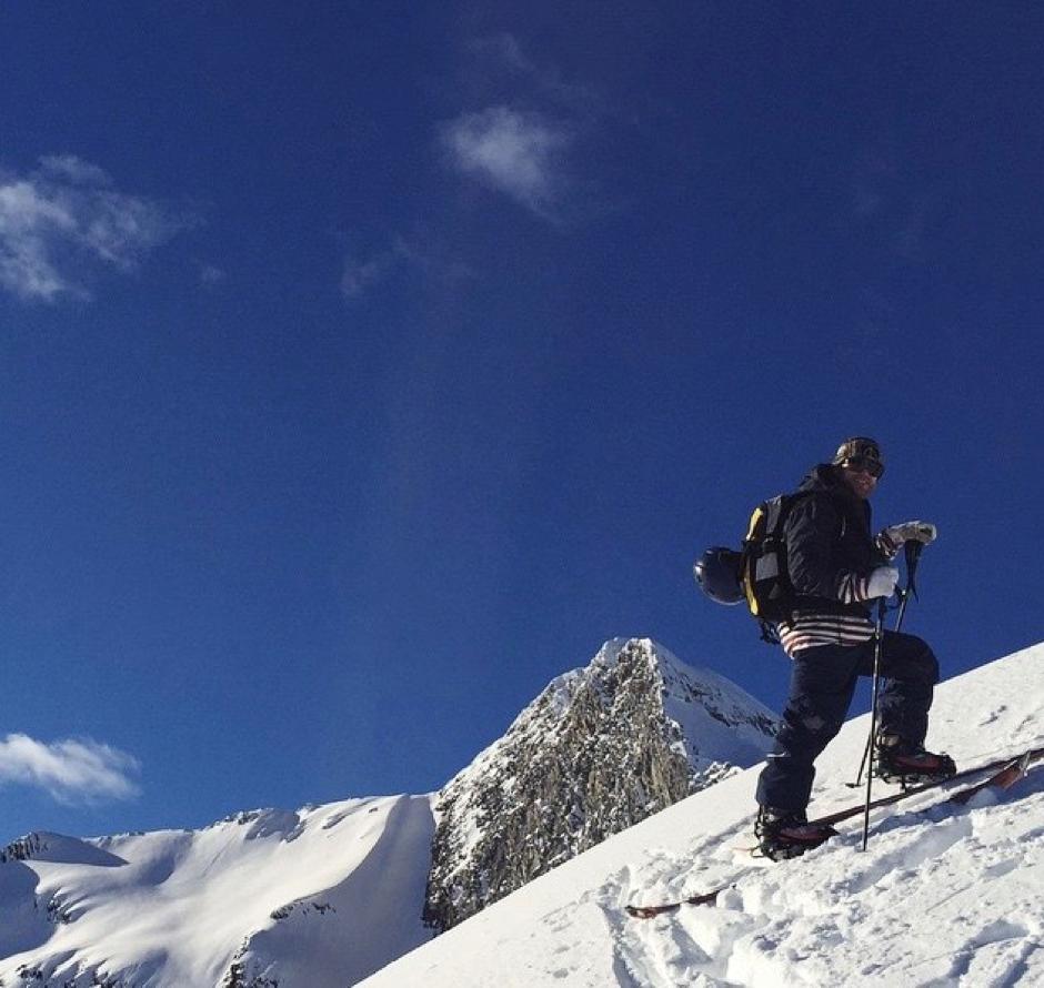 Splitboarding in the Canadian Rockies