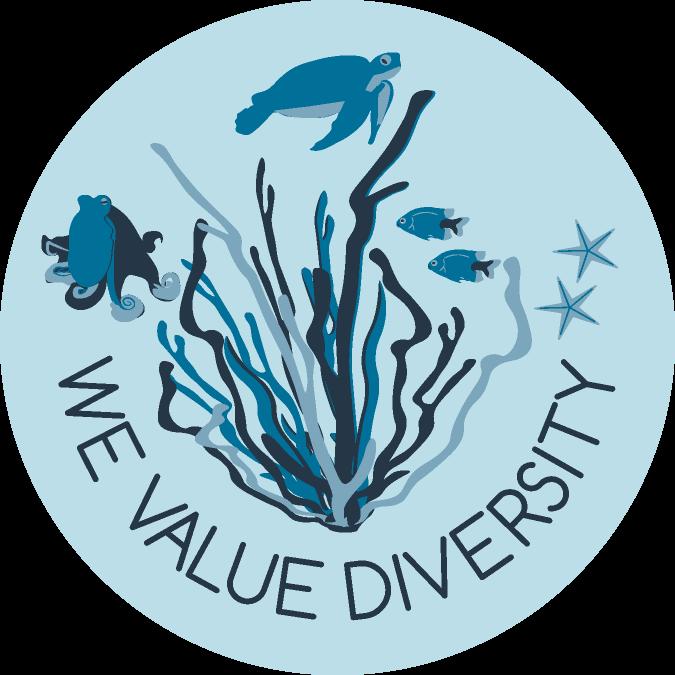 glass bottom - diversity