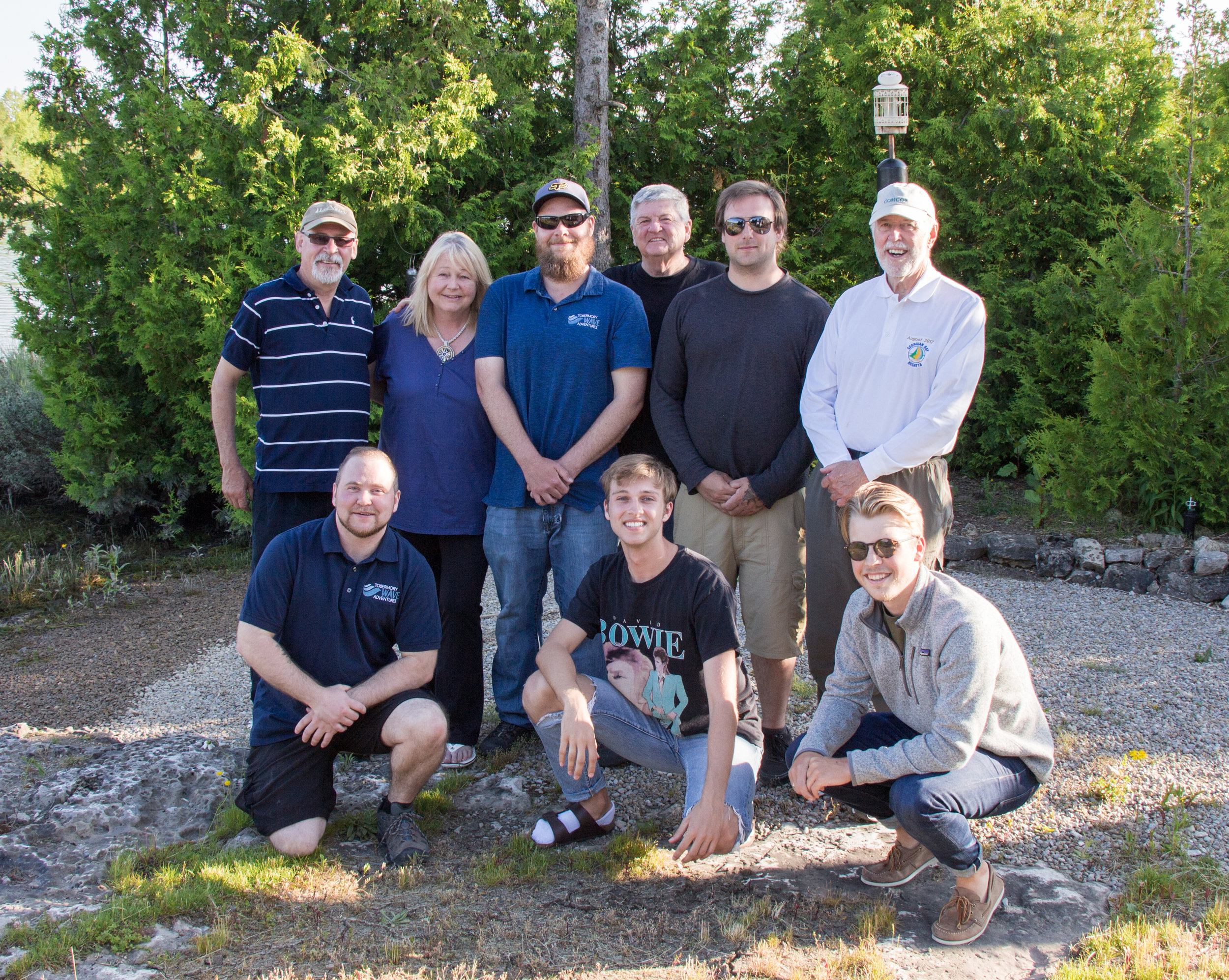 Meet the team! We're so excited to make your trip to Tobermory a special one.