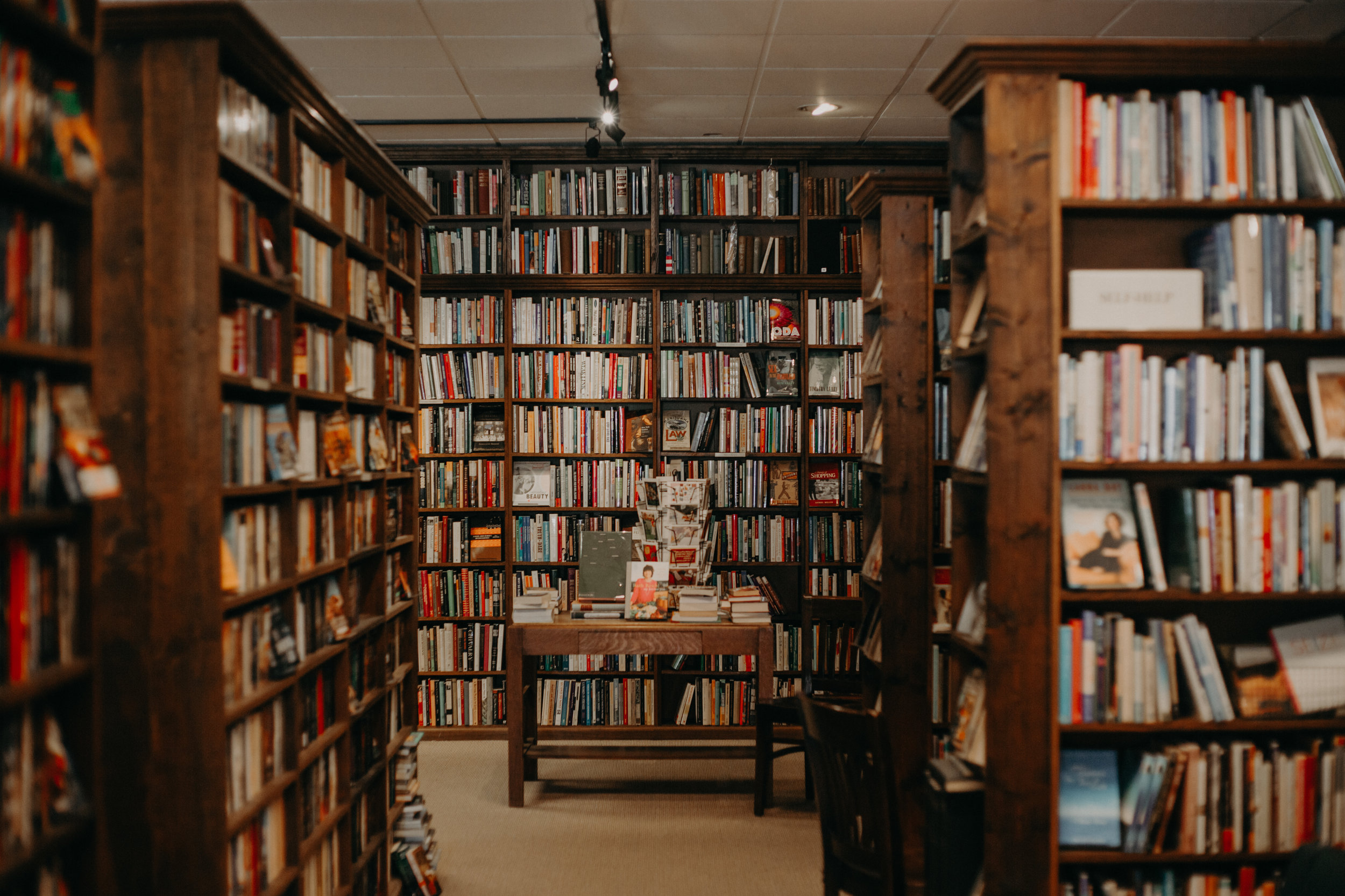 The Dusty Bookshelf