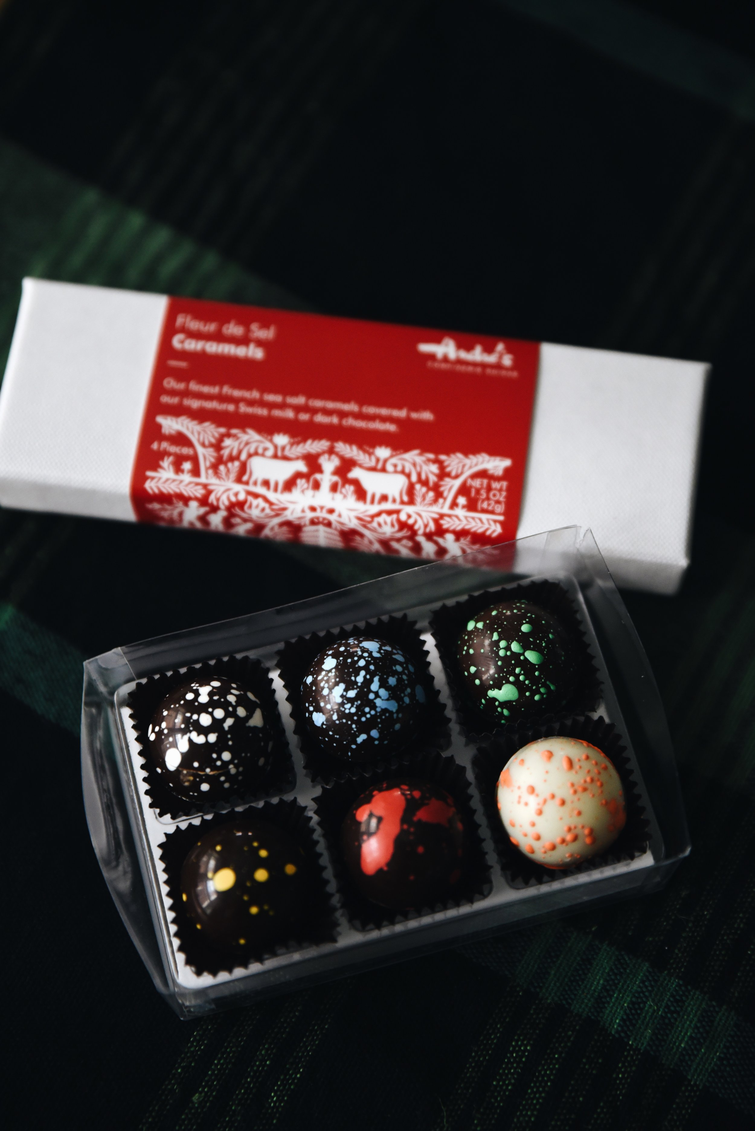 André's chocolates.
