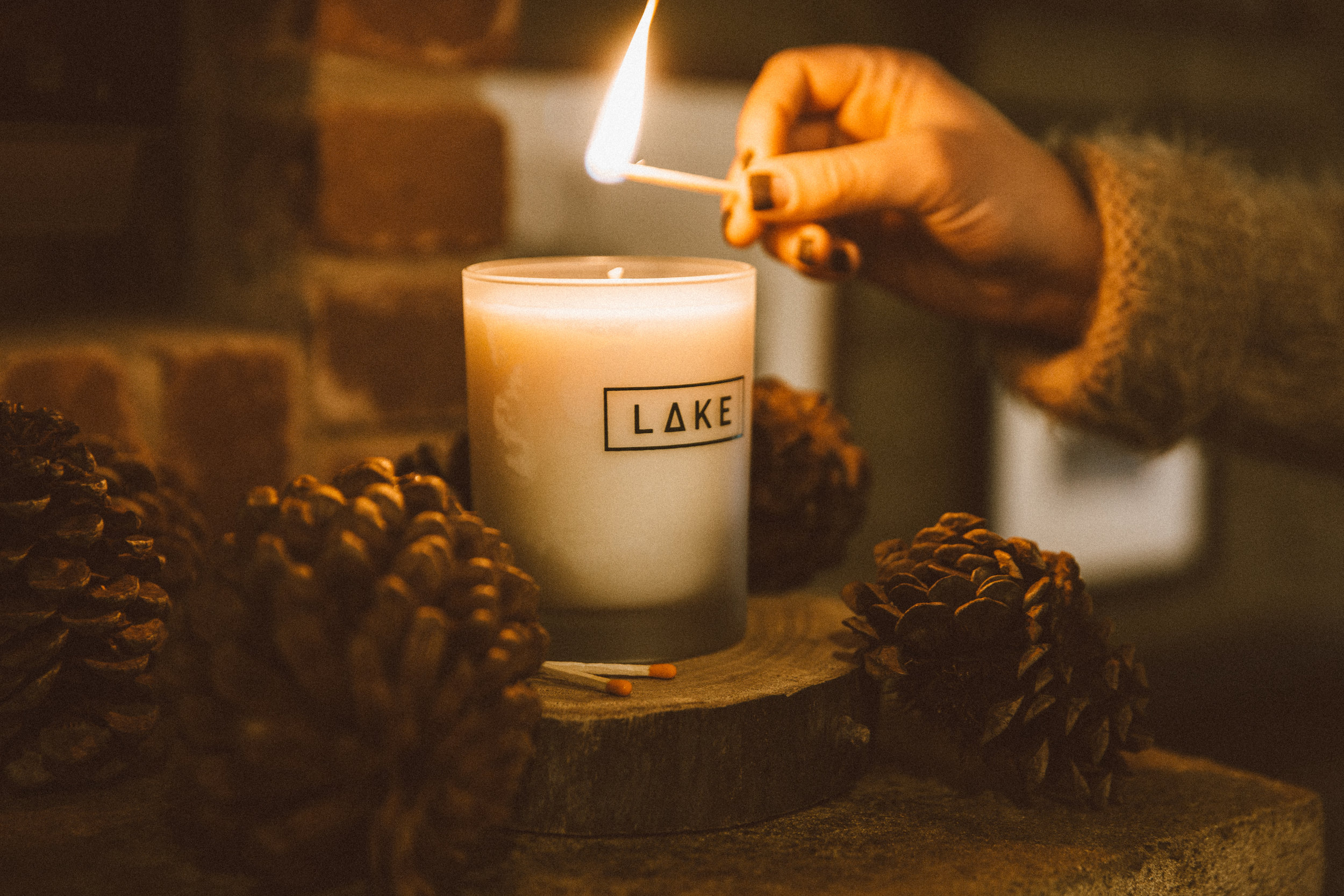 Lake Candle from Made in KC. All photo by Alyssa Broadus