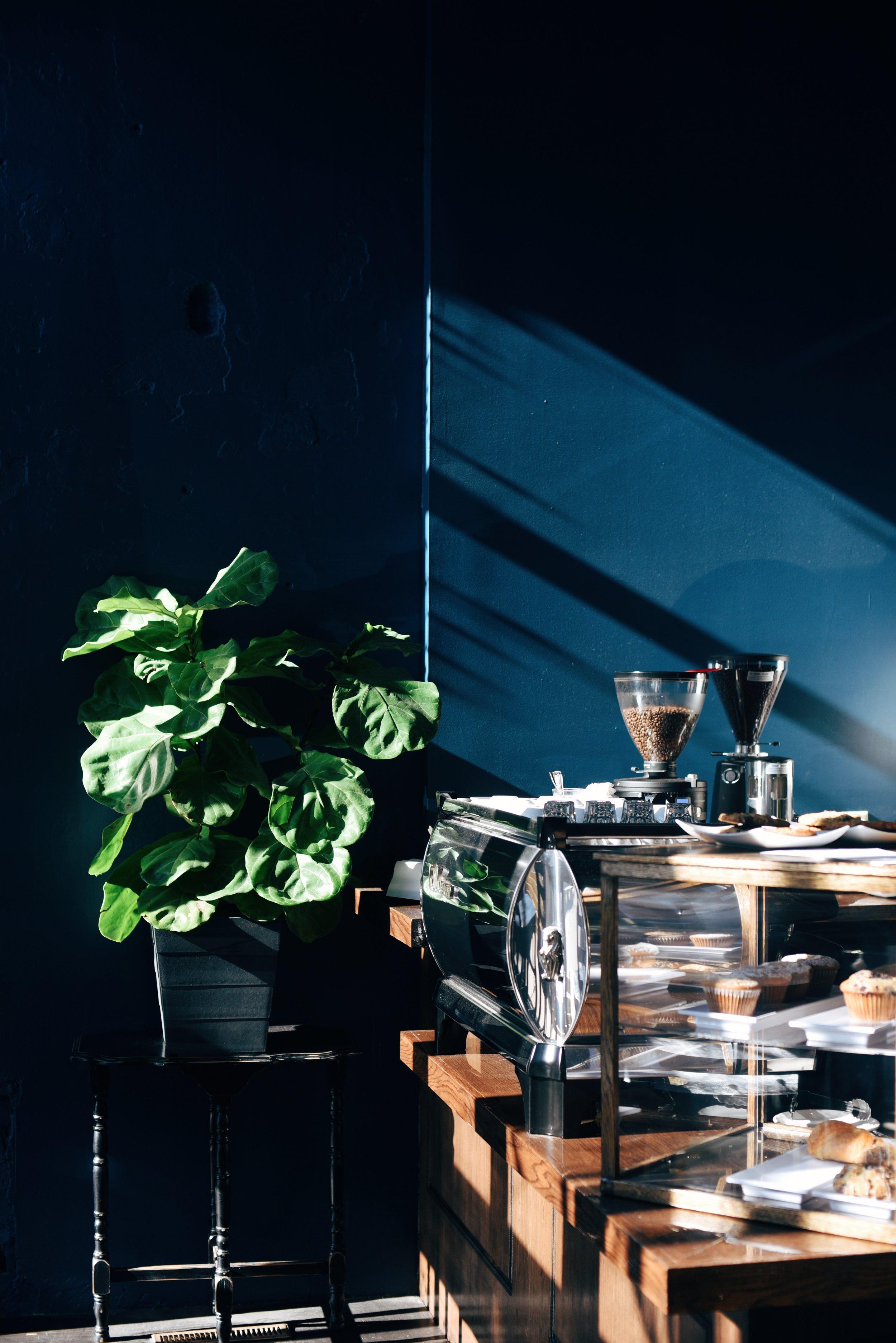 Nomad's Coffee.