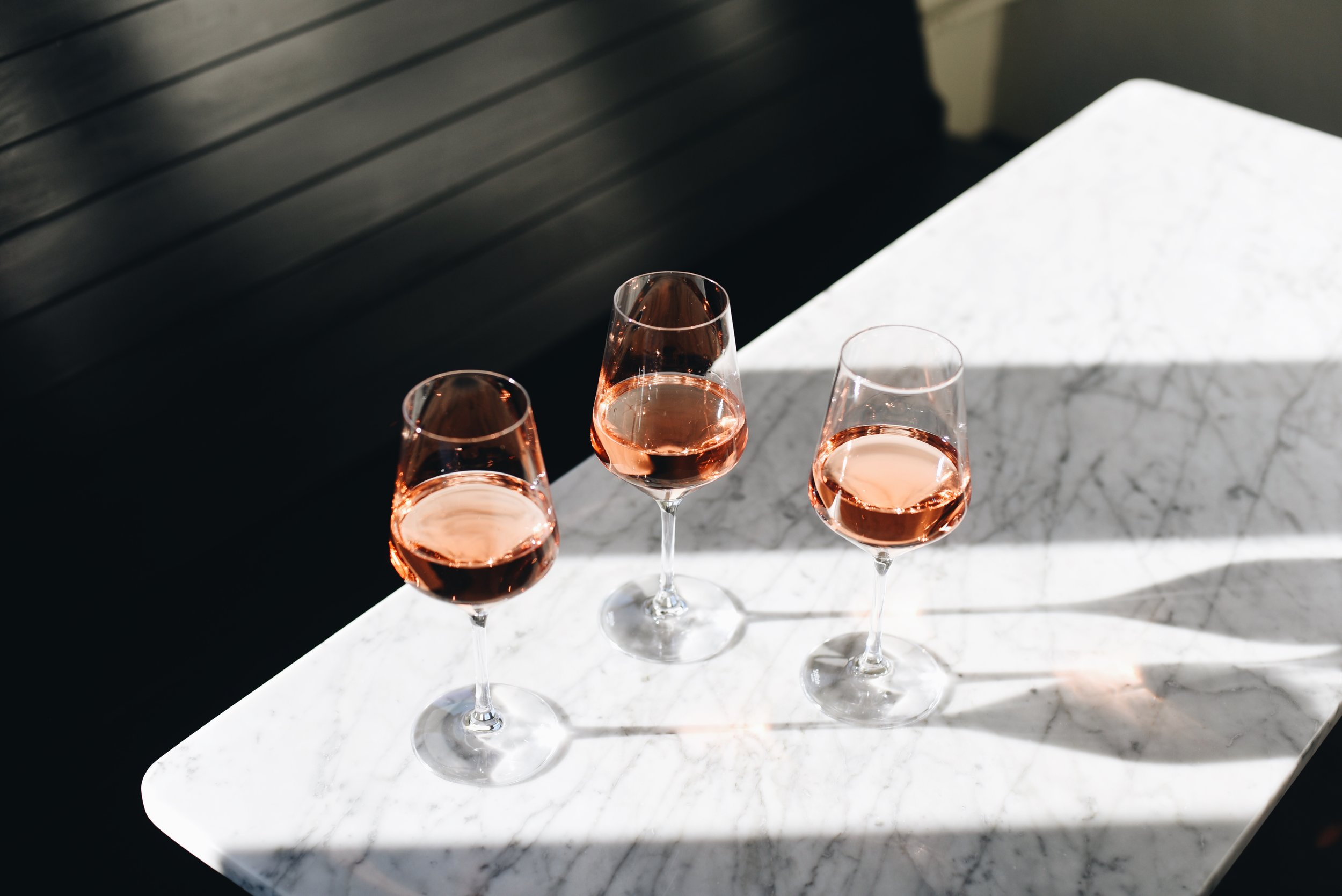 Amigoni Winery's rosé.