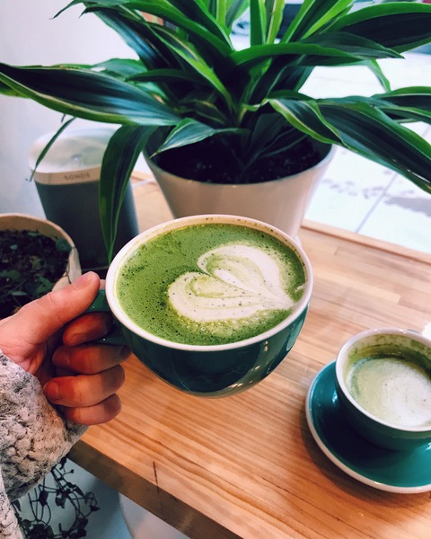 Matcha madness- all photos courtesy of Rae Ehly.