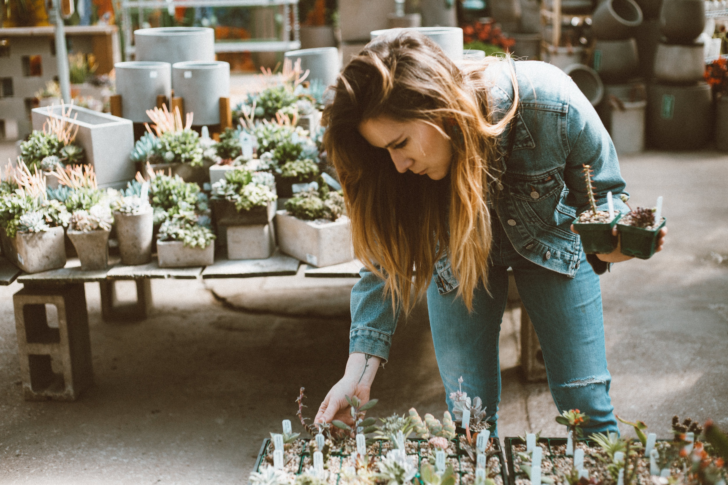 Plant-guru Erin Hawkins. All photos by Alyssa Broadus