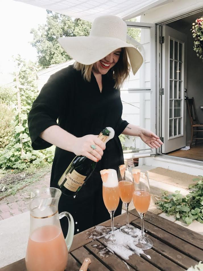 Emily Farris - Emily Farris is freelance writer, social media manager, cocktail enthusiast, and potty-mouth. She lives with her husband, toddler son, and two rowdy rescue dogs in Kansas City, MO. Follow her on Instagram at @thatsfestiveaf.