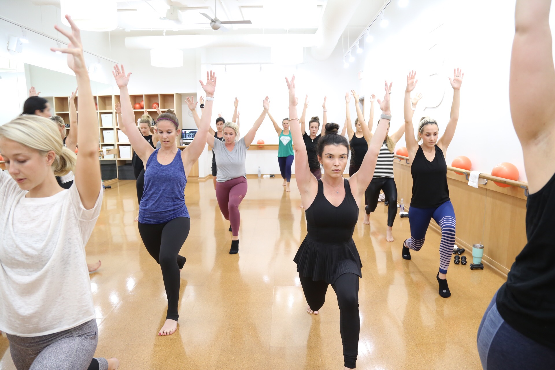 Barre3. Photo by Ruthie Stark