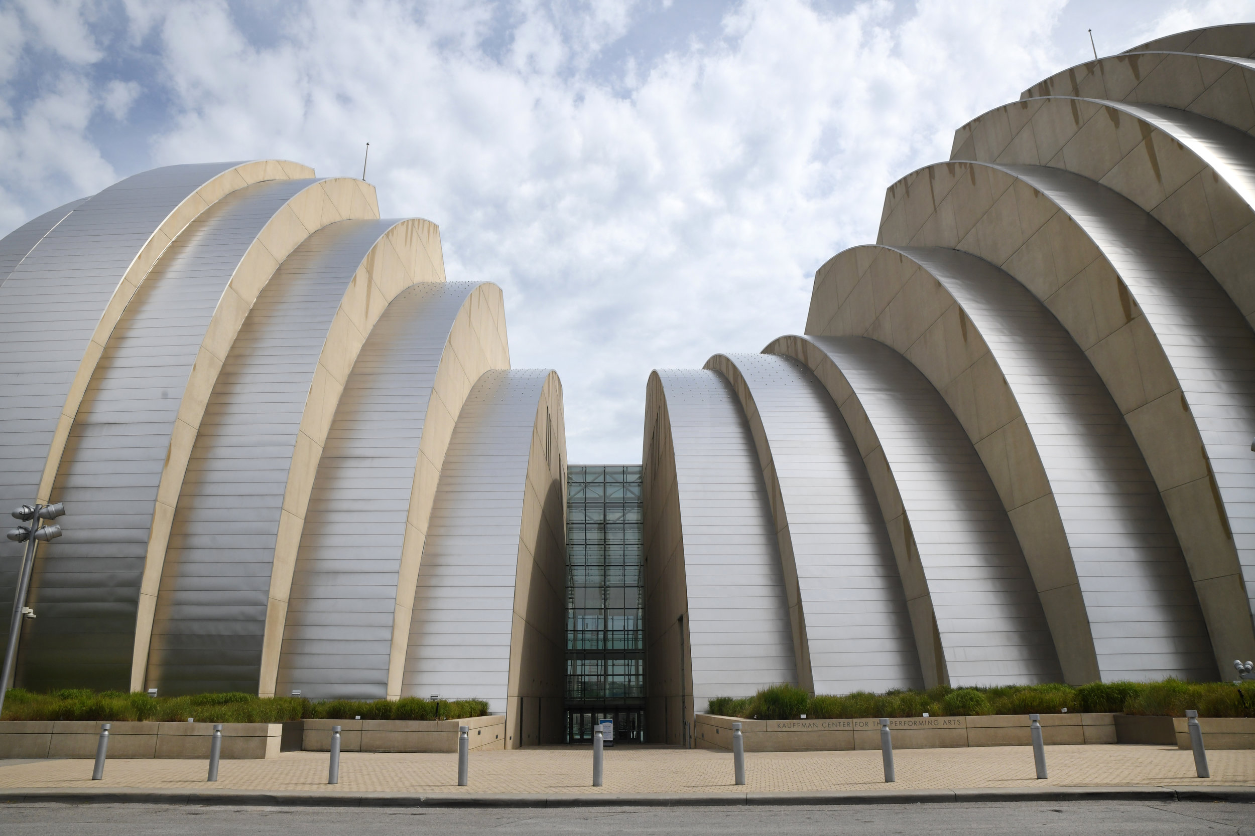 Kauffman Center for the Performing Arts. All photos by Anna Petrow