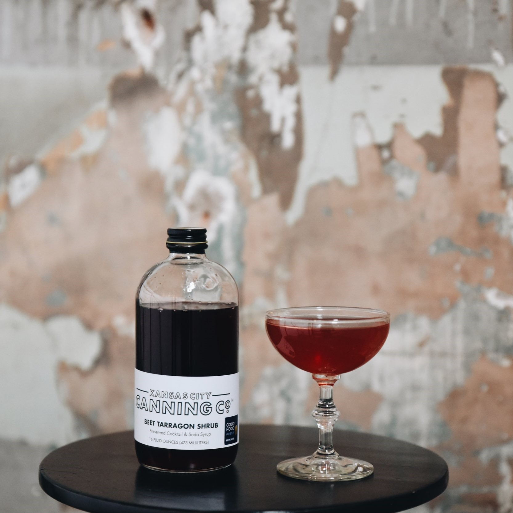 KC Canning Co. Beet Tarragon Shrub