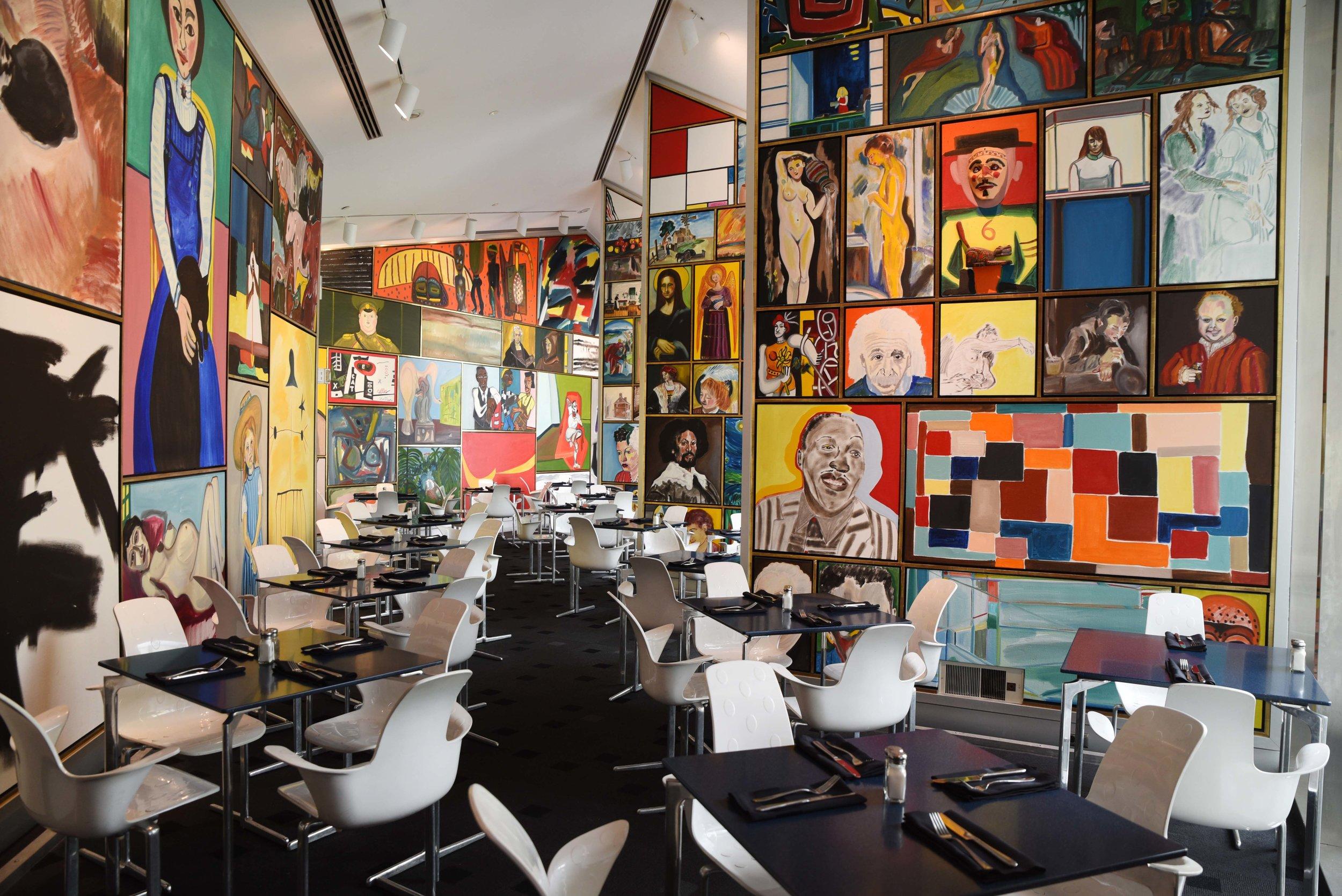 Café Sebastienne. Photo by Anna Petrow