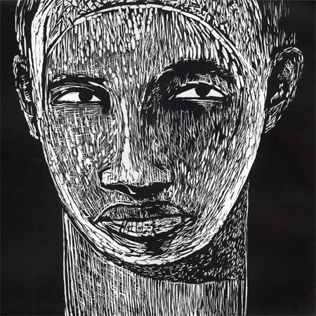 """""""I See You,"""" Samella Lewis, 2005, print"""