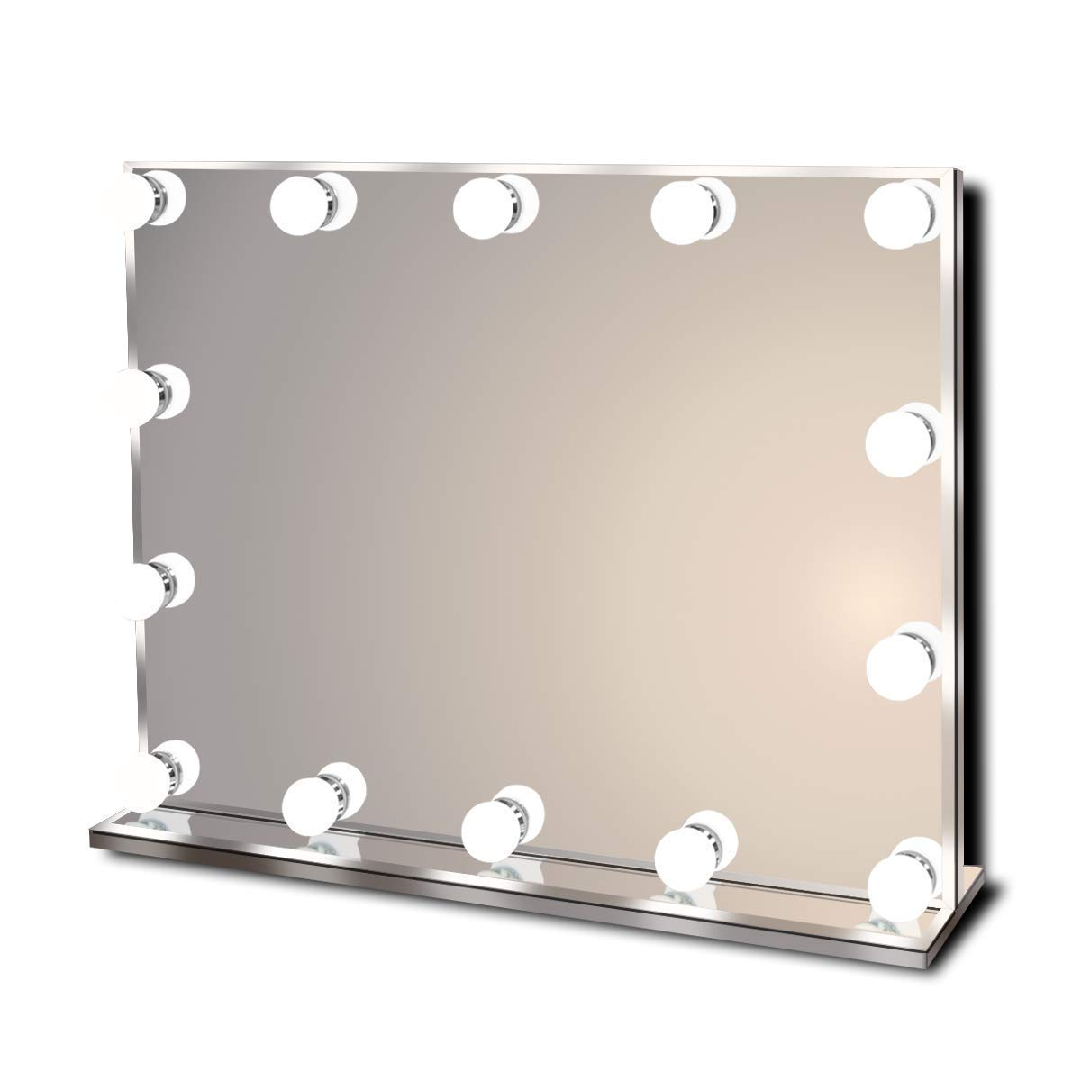 Make up station with vanity mirror