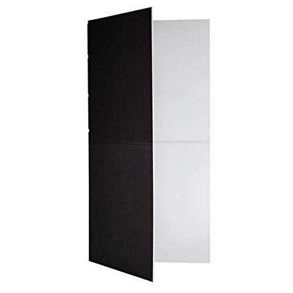 (4) V Flats (8ft x 4ft) / Black and White