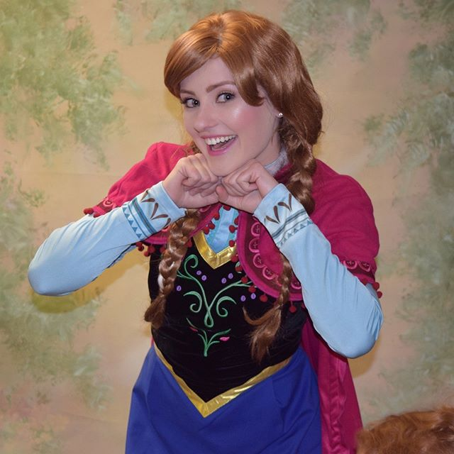 Some people are worth melting for! ❤️❄️❤️❄️❤️❄️❤️❄️❤️❄️❤️ (855)PIXIECO PixieDustCo.com #cosplay #coloradosprings #professionalprincess #princessparty #partyplanner #enents #frozen #anna #frozencosplay #colorado #partyprincess #partyplanning #letitgo #princessanna #adorable #cosplaygirl