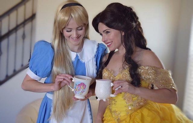 It's always teatime ☕️at Pixie Dust ✨ (855)PIXIECO PixieDustCo.com  #colorado #coloradosprings #coloradoevents #princess #princessparty #partyprincess #cosplay #events #eventsplanner #birthday