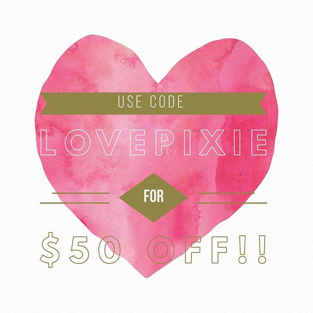 We're celebrating Valentine's Day with a discount we're sure you'll love❤️! Use code: LOVEPIXIE  for $50 off 💵 any party you book in the month of February 🎉 !!! This offer won't be around long!  Give the gift of magic- Invite a fairytale friend to your next celebration and create smiles and memories that will last a lifetime✨  Call (855)PIXIECO for more information  or book at PixieDustCo.com  #colorado #coloradosprings #cosprings #cosplay #coloradoevents #party #events #partyplanner #partytime #princessparty #offer #princess #eventplanner #superhero #pixiedust #coloradospringsmom