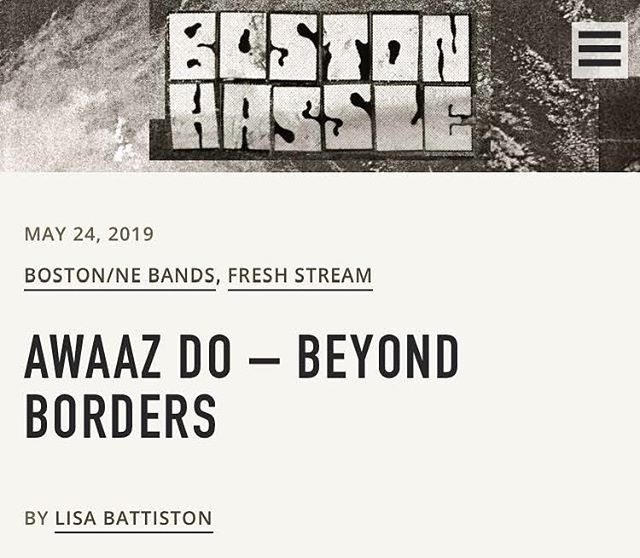 Le badass Boston music writer @lisabattiston reviewed our new album for @bostonhassle!! 😻 Link in bio. . . . . . #boston #newengland #newmusic #musicjournalism #albumreview #albumrelease #rock #dhol #indierock #punk #nowstreaming