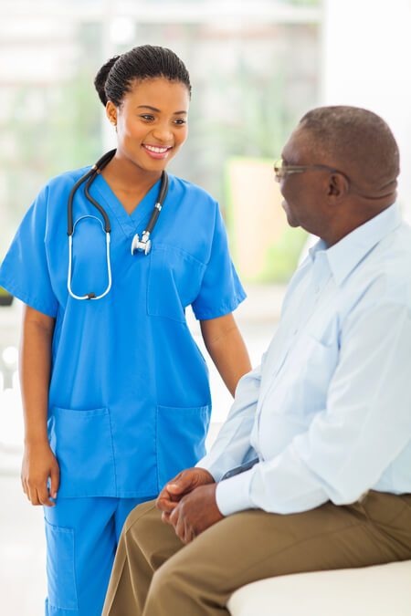Sexual-dysfunction-expertise-nurse-with-male-patient-sitting-down