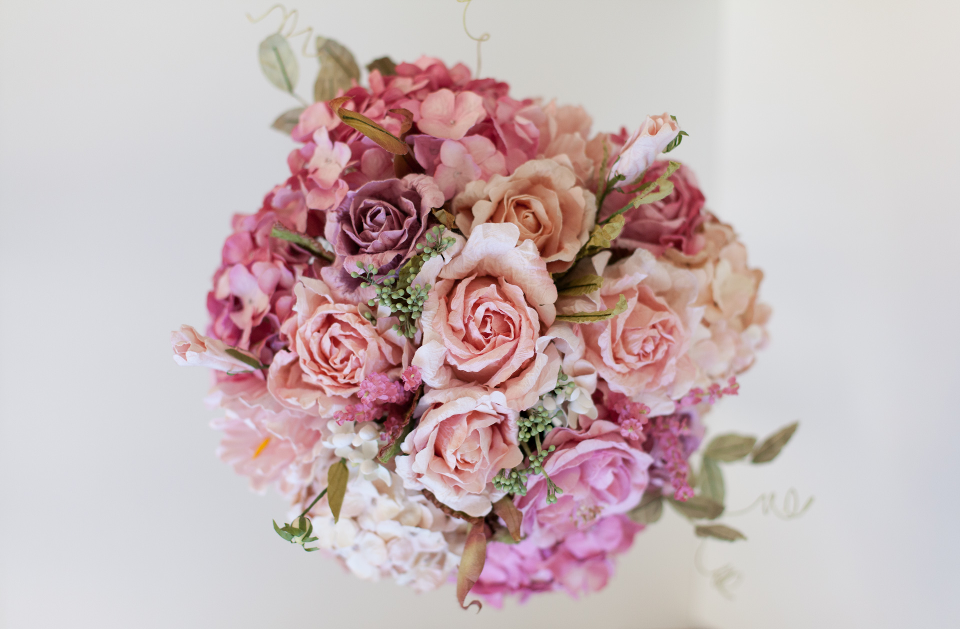 Recreated Bridal Bouquet