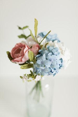 Posy Pot Handmade Paper Flowers Bouquets