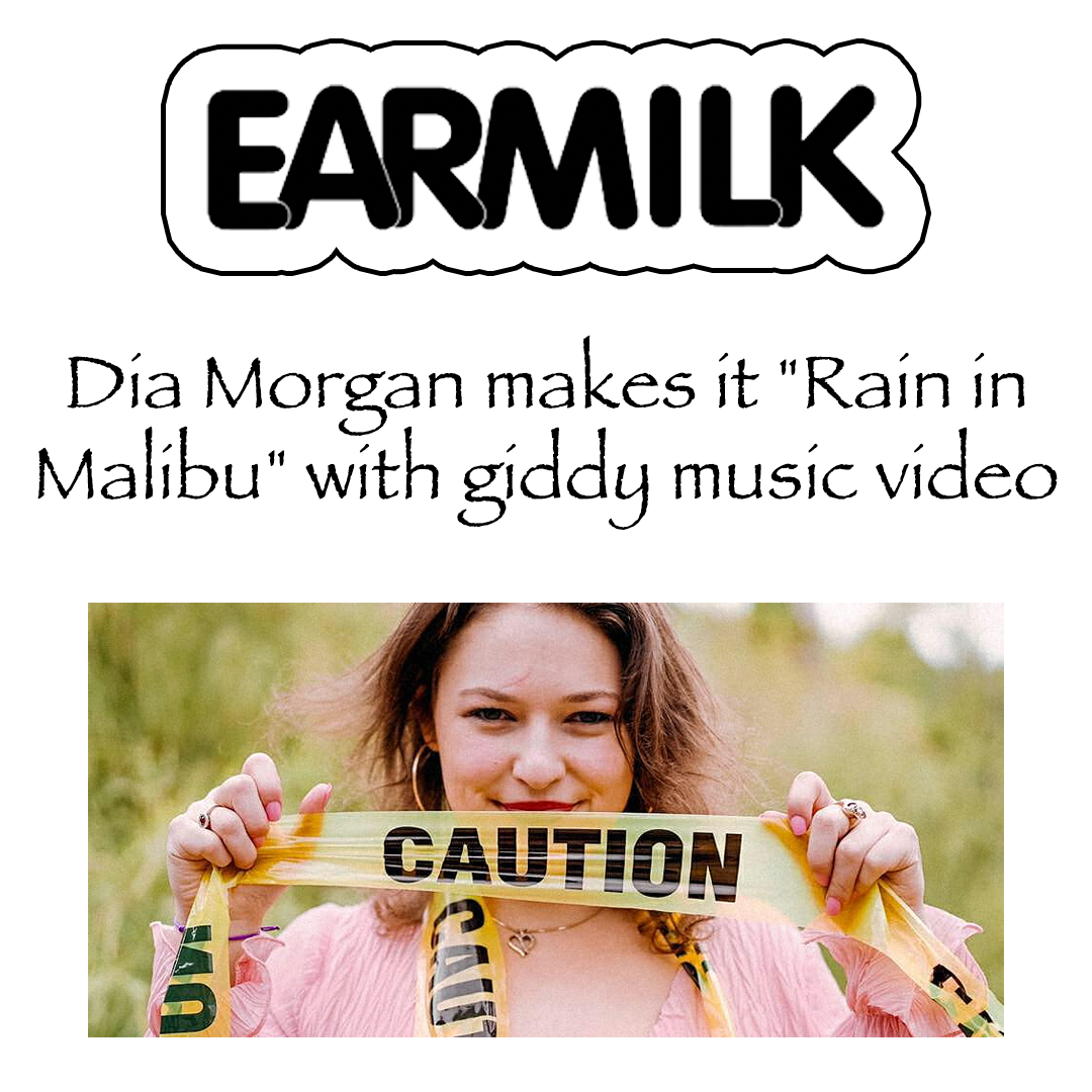 """Independent singer-songwriter  Dia Morgan  has the power of making it rain in Malibu, California. Her colorful, magical, and full-of-life attitude and personality shine in her energetic and infectious new track and music video for """"Rain in Malibu."""""""
