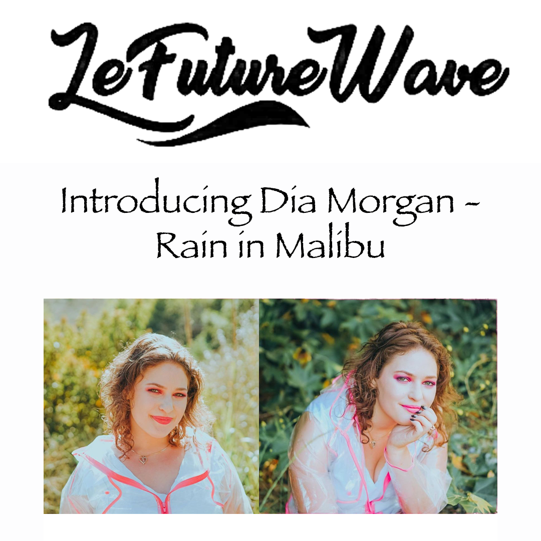 Dia Morgan Lefuturewave Rain in Malibu
