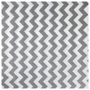 Gray Chevron Poly