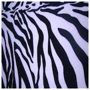 Zebra Stripe Poly