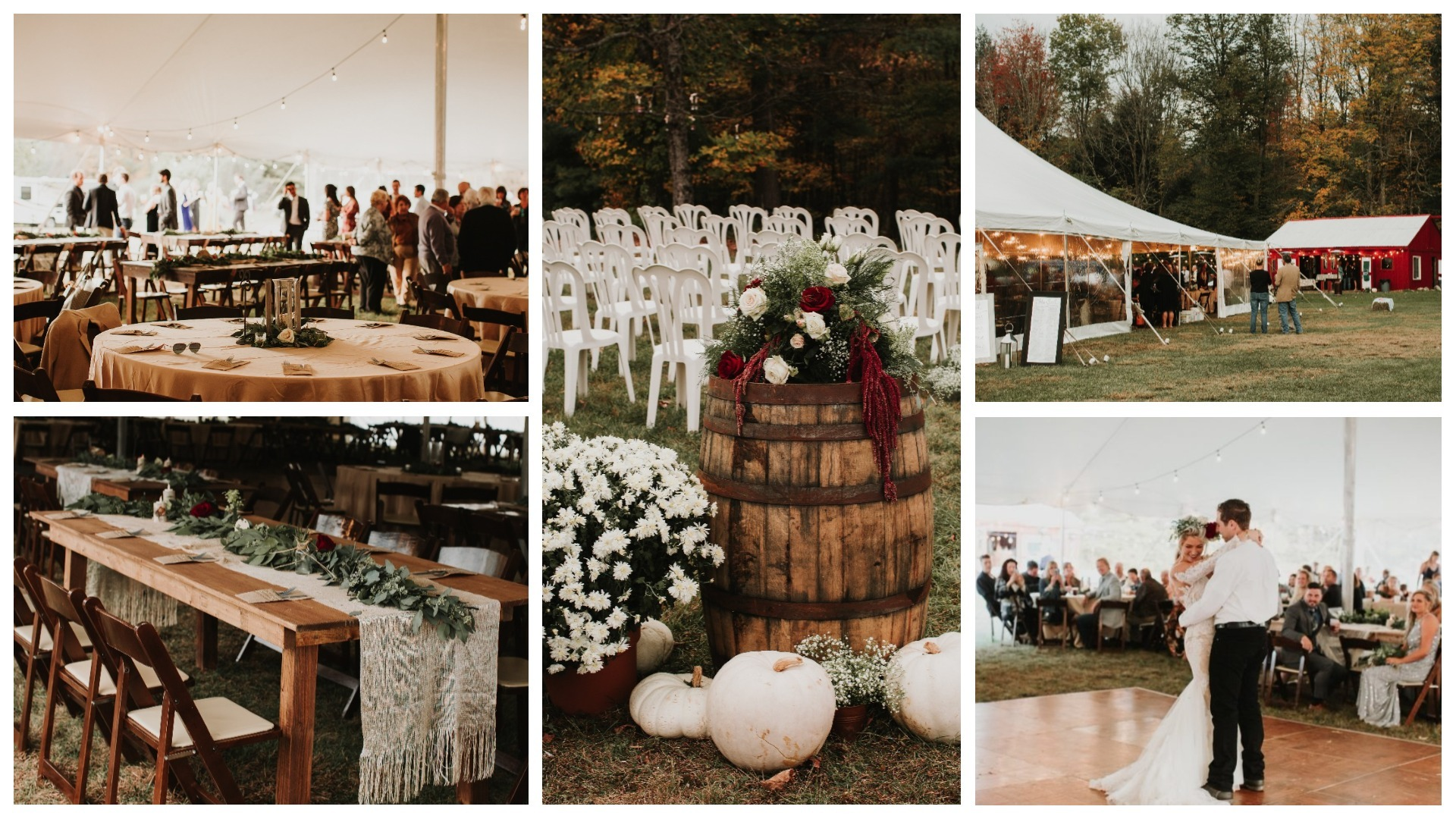 outdoor wedding at Heavens Gate