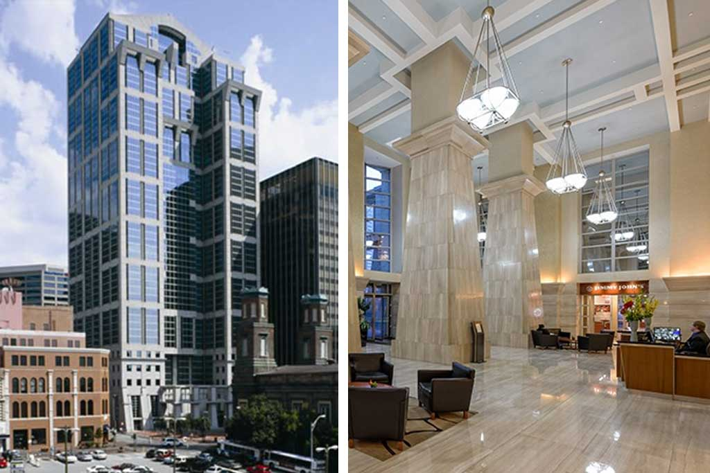 Fifth THird Center - Nashville, TN • 490,281 SF • Office • Acquired 2006 • Sold 2014