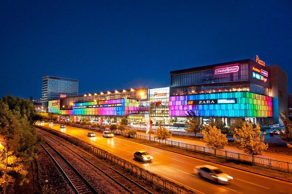 PIAZZA SAMSUN SHOPPING CENTER - Samsun, Turkey • 65,000 sqm • Retail • Acquired 2011 • Sold 2018