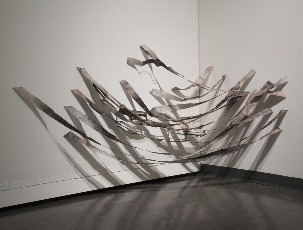 'Unusual Migration', digital photograph on vellum