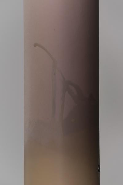 'Pier' detail, fibre-based photographic paper, tide line (photo by Ernest Mayer)