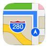 Apple Maps on Apple CarPlay