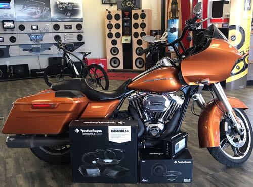 install a motorcycle stereo in San Diego.