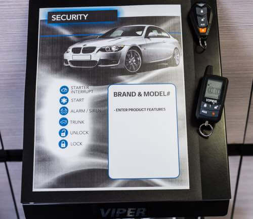 Car security system installation San Diego.