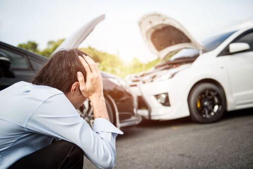 Car blind spot detection sensors