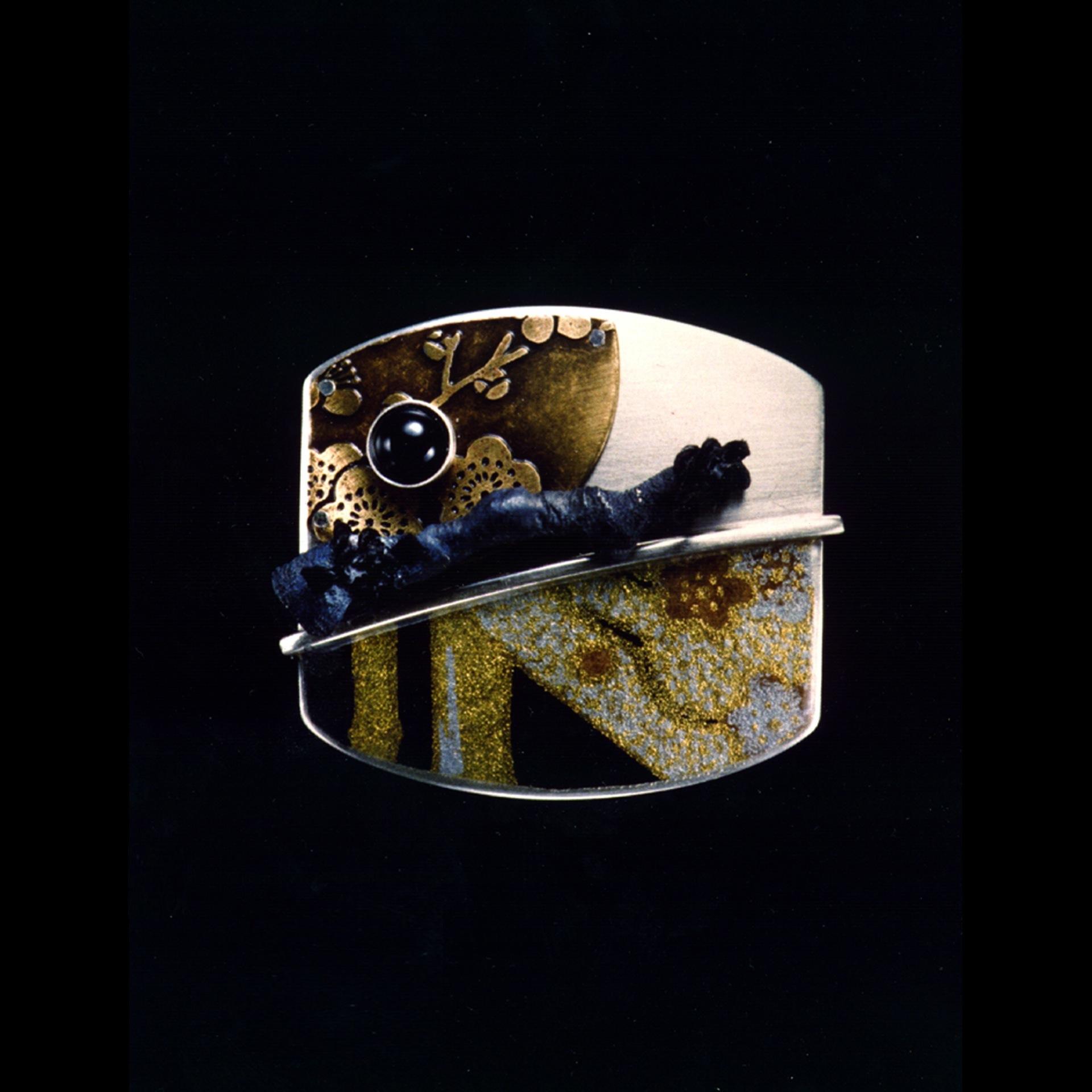 Plum Flower Pin 1995