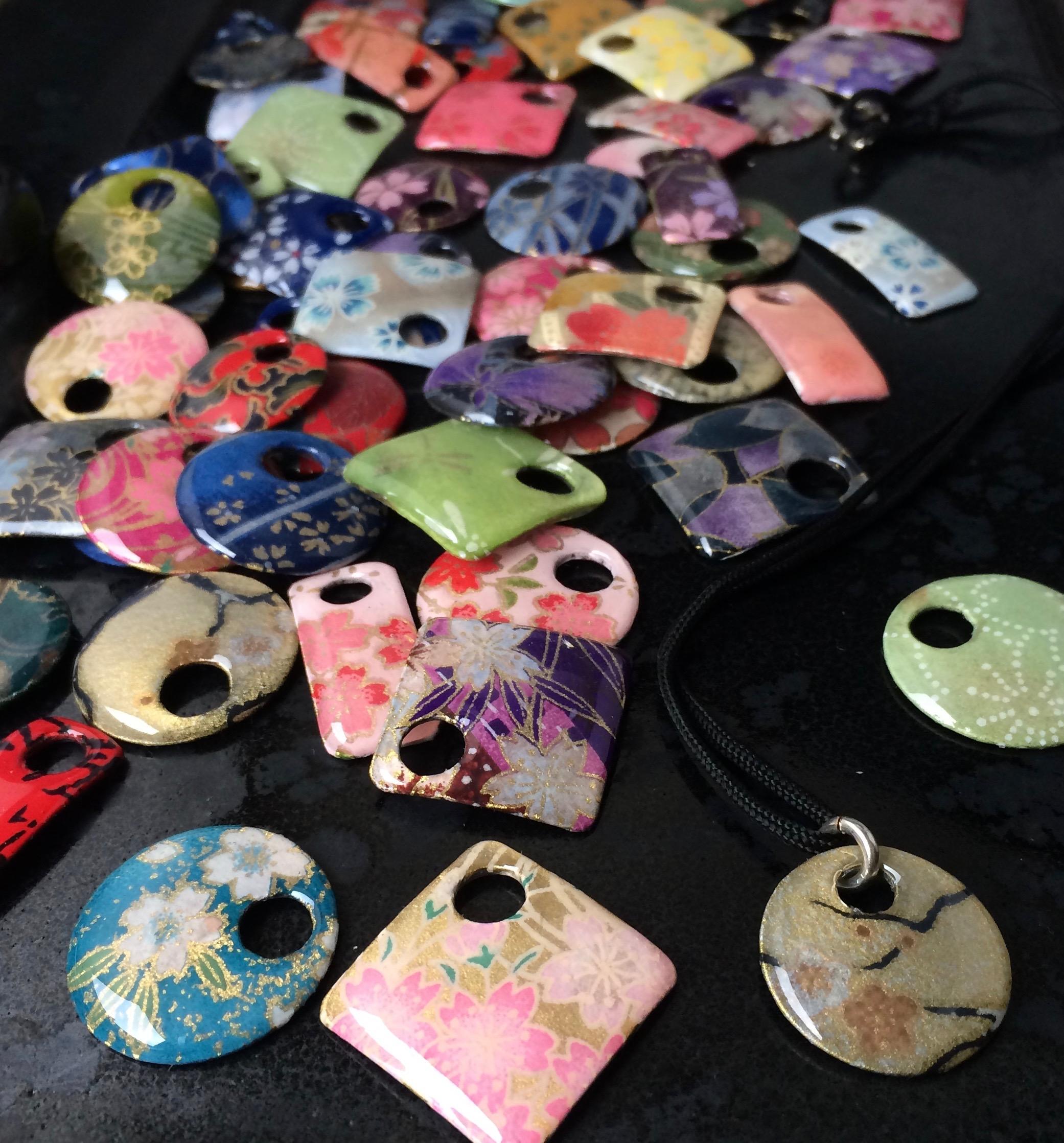 Washi pendant