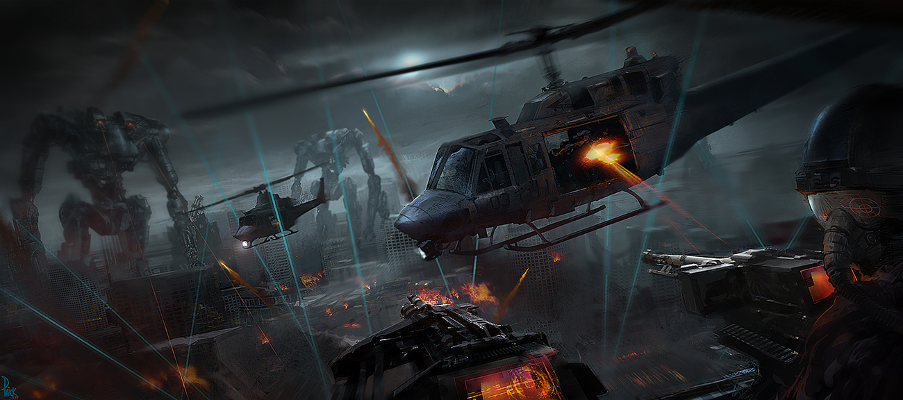 Attraction Design: Terminator 4 Attraction