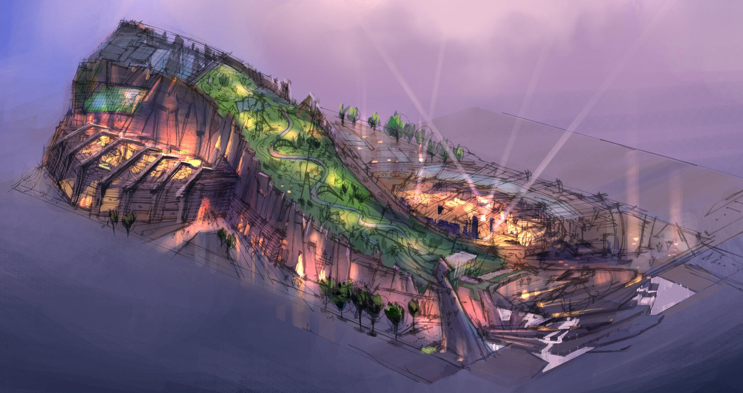 Theme Park Concept: Seoul, Korea